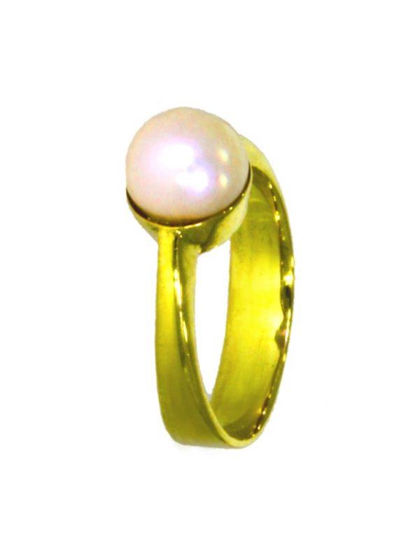 ADIB5-Ring-Gold-Perle