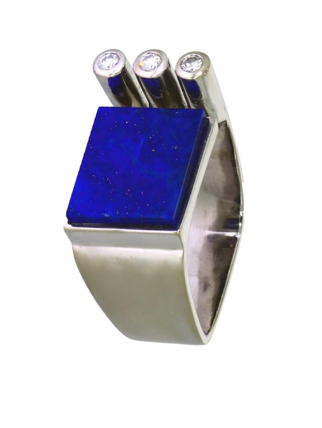 ADIB525-Ring-585-Weißgold-Lapislazuli-Brillanten-Handarbeit
