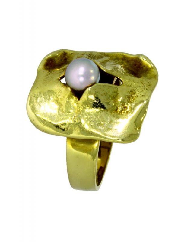 ARFA46-Ring-585-Gold-Perle