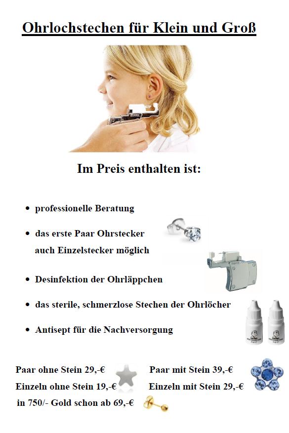 Ohrlochstechen-Bremen