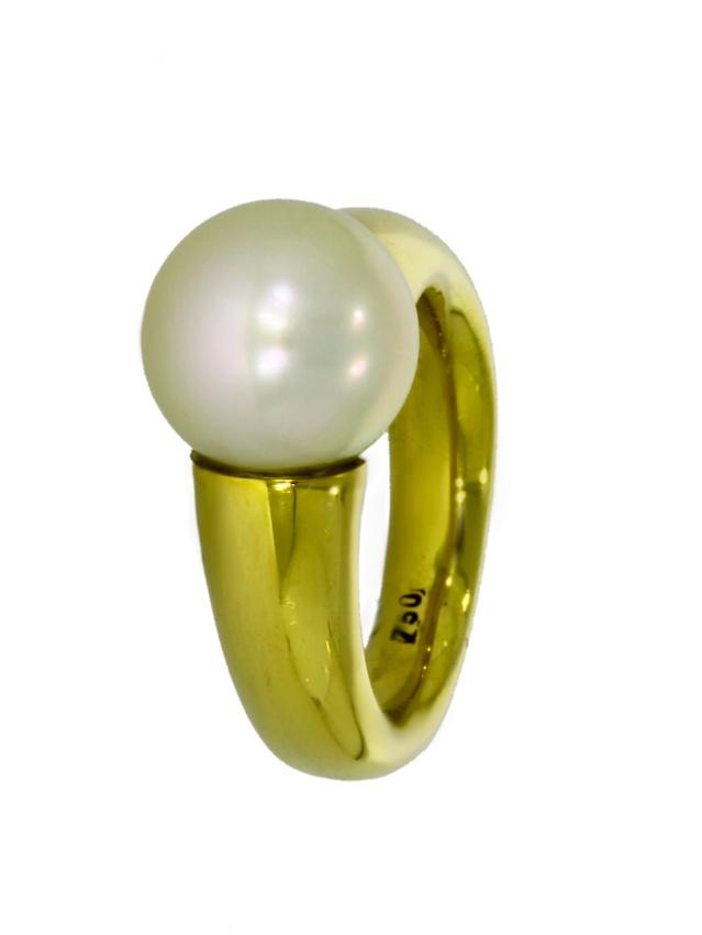 V3415-12-Ring-750-Golg-Perle