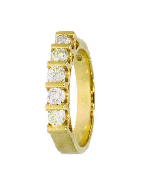 V3975-1-Ring-Gold-5-Brillanten
