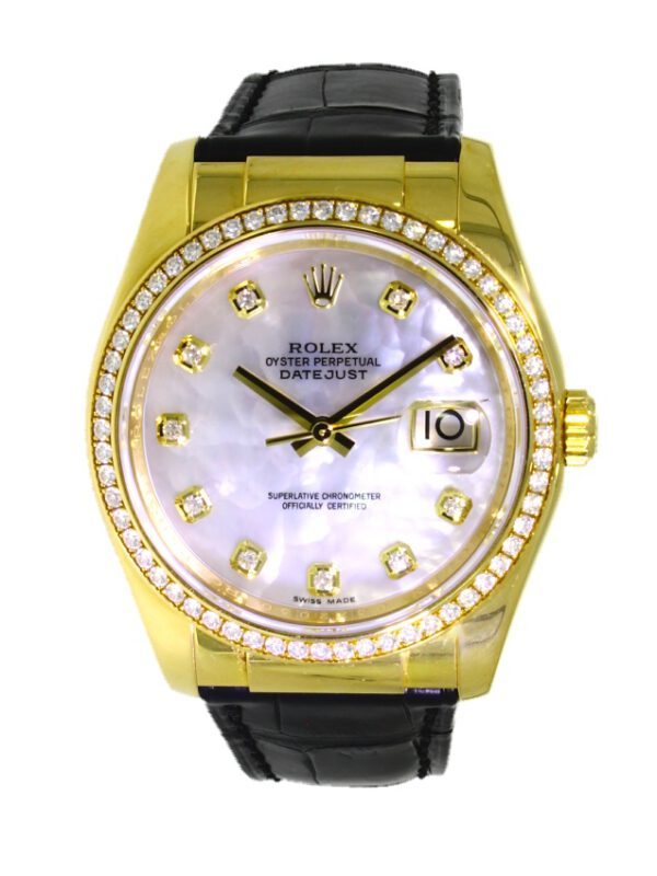 V4013-Rolex-datejust-116188-gold-lederband-brillanten